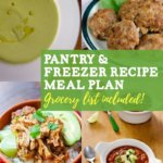 pantry recipe meal plan and grocery list - cook eat paleo