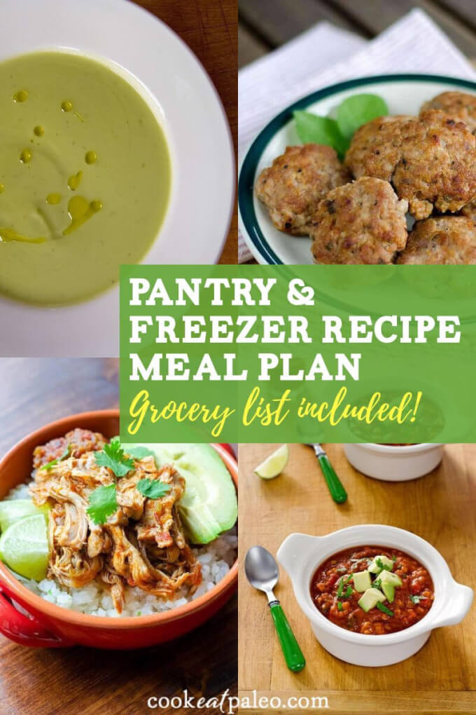 Easy Recipes Using Pantry & Freezer Ingredients (Meal Plan & Grocery List Included)