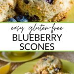 easy gluten-free blueberry scones