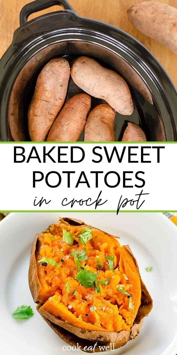 How To Bake Sweet Potatoes in a Crock Pot