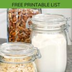 How to stock a paleo pantry - free printable list
