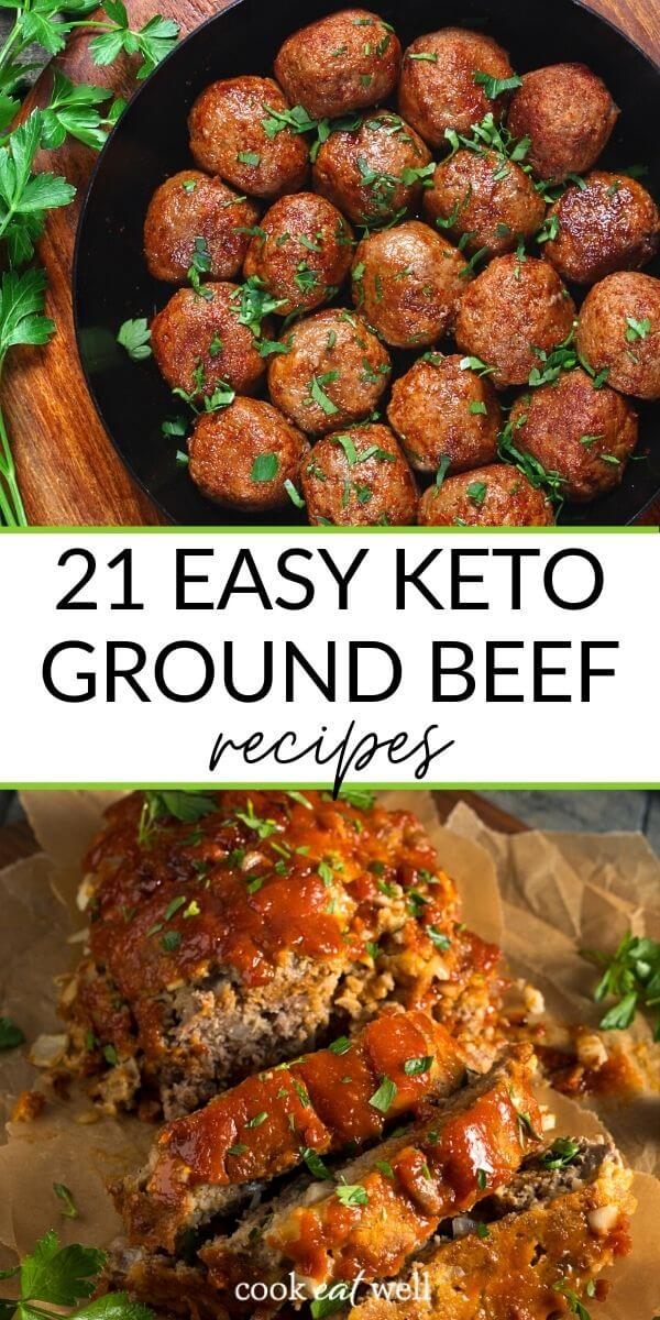 21 Keto Ground Beef Recipes for Easy Dinners