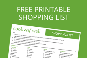 Free Printable Shopping List