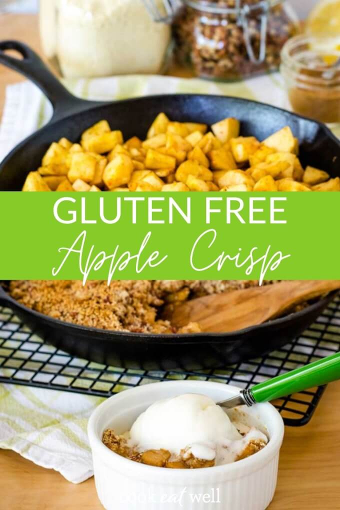 Easy Apple Crisp (Gluten Free, Paleo, Vegan)