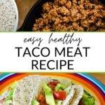 Easy healthy taco meat recipe