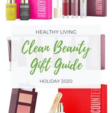 Healthy Living Clean Beauty Gift Guide Holiday 2020