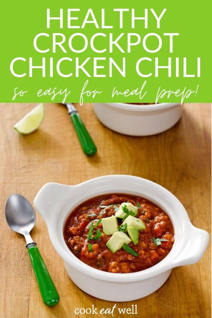 Crock Pot Cauliflower Chicken Chili (Paleo, Whole30)