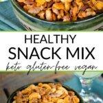 Healthy snack mix keto gluten free vegan