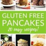 Gluten free pancakes - 20 easy recipes!