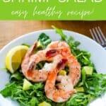 Keto shrimp salad - easy healthy recipe!