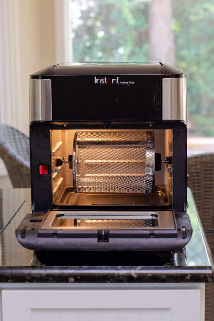 Instant Vortex air fryer oven rotisserie